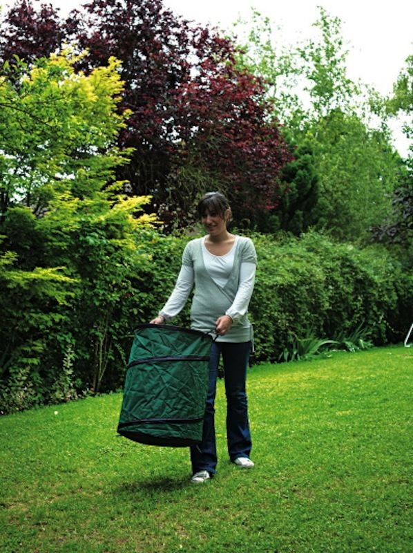 sac a dechets verts pop up poubelle de jardin 160 l ebay. Black Bedroom Furniture Sets. Home Design Ideas